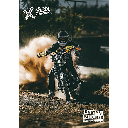 Motorcycle Storehouse Flyer Rusty Butcher